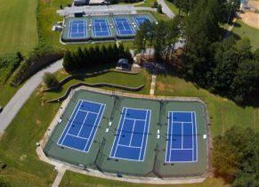 Nettles Park Tennis Court
