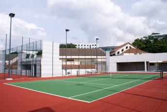 Tennis Court Lighting & Fencing